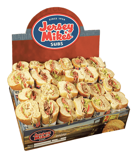 Jersey Mike's Subs in a box