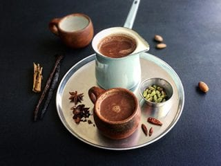 Cacao in a cup
