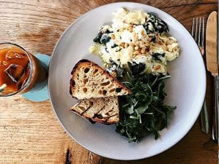 Fresh Ricotta, Spinach and Toasted Pine Nuts