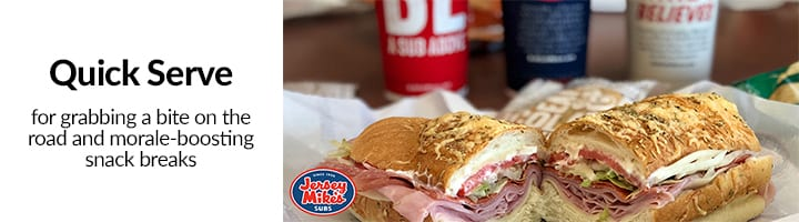 Quick Serve Jersey Mike Sandwiches Image