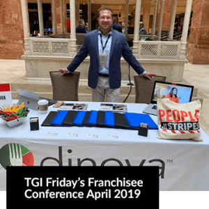 TGI Friday's Franchisee Conference April 2019 Image with a man smiling