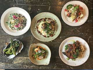 Farmhouse Chicago Dishes on Table
