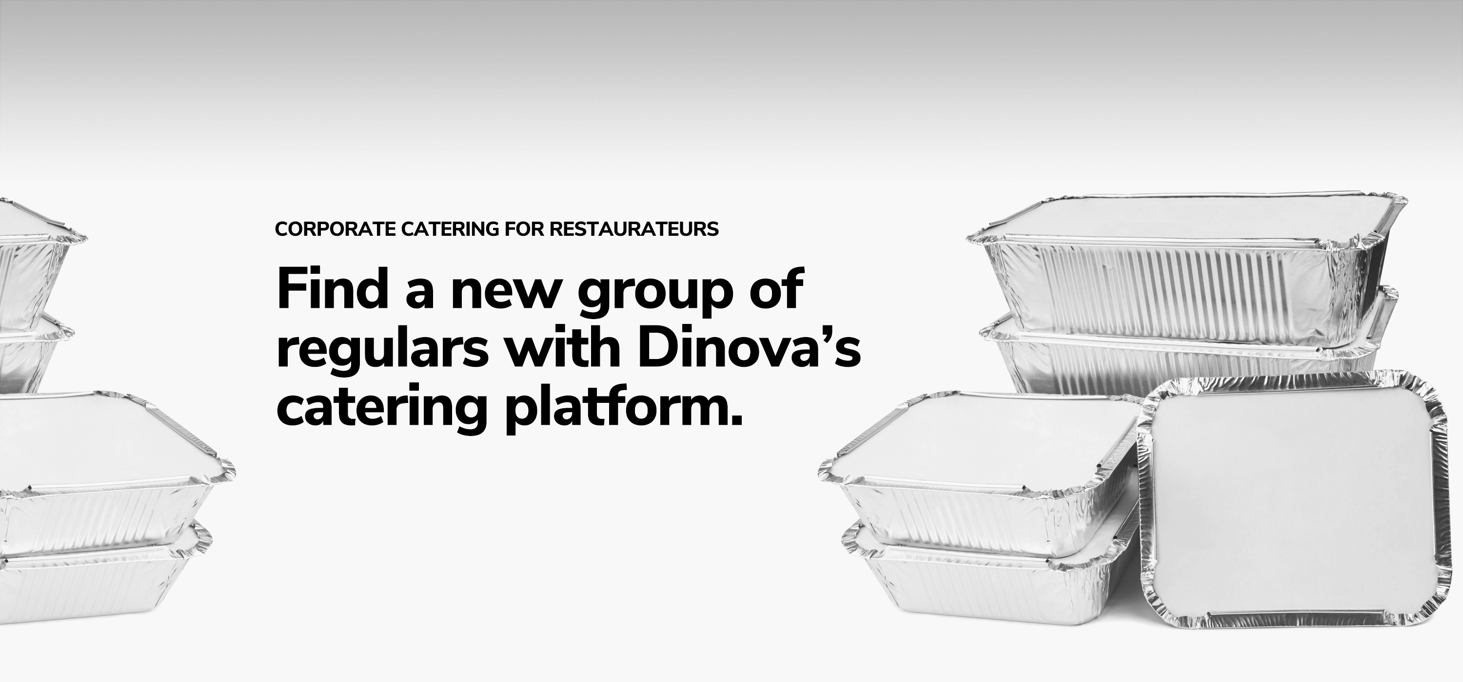 Corporate catering for restaurateurs