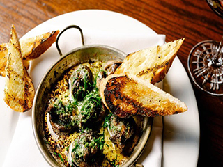 Skillet Smoked Organic Mussels