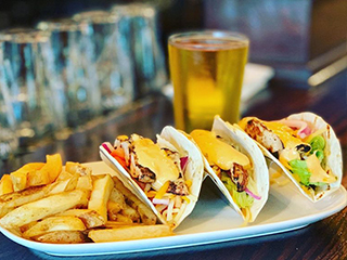 Chipotle Grilled Tacos and Fries