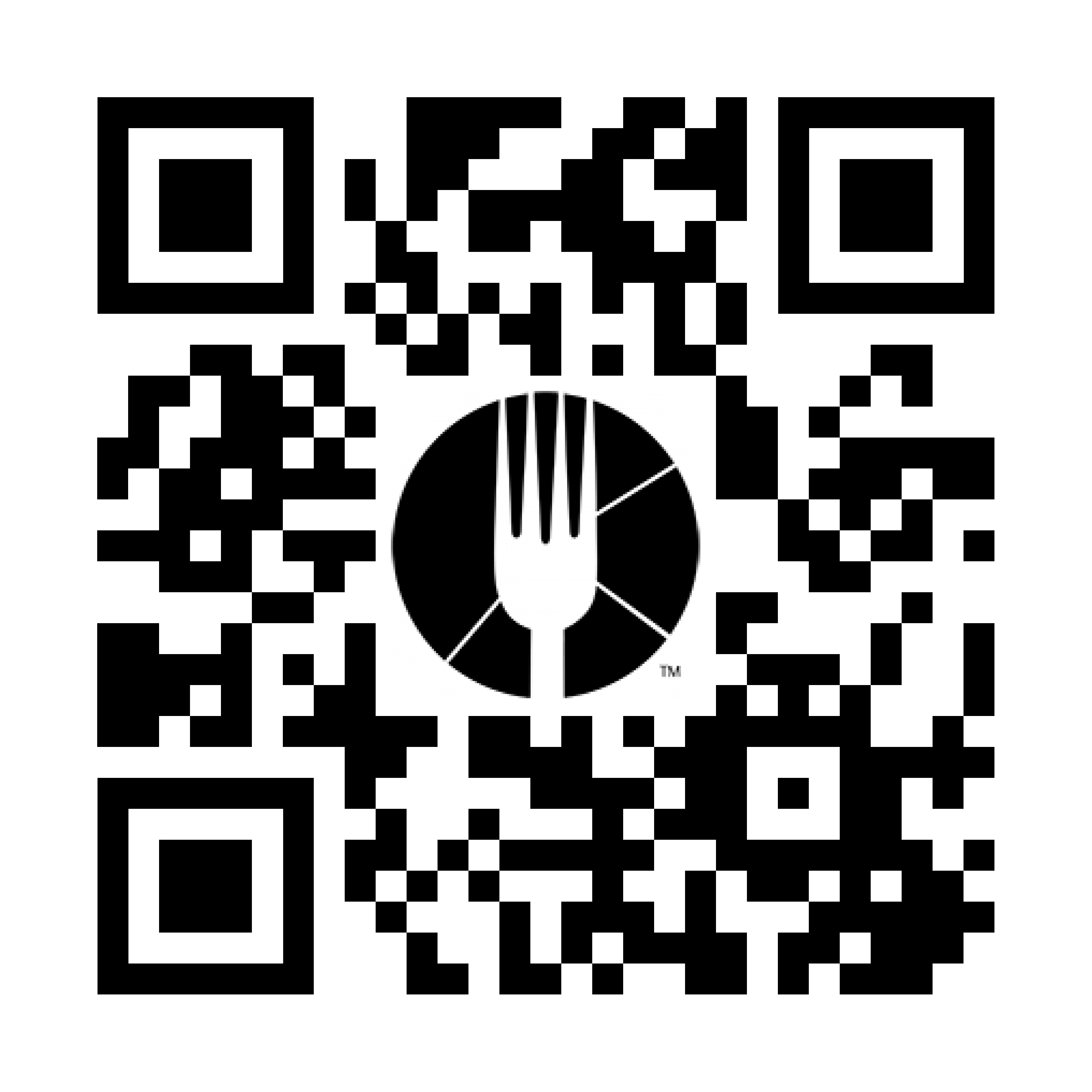 QR code to enable users to download the dinova mobile app