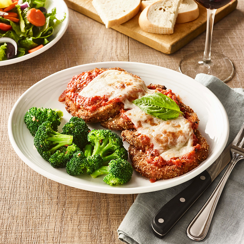 Carrabba's Italian Grill chicken parmesan dinner