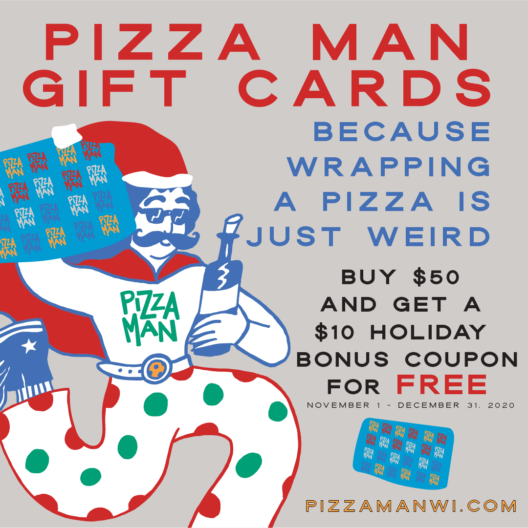 Pizza Man gift card promo