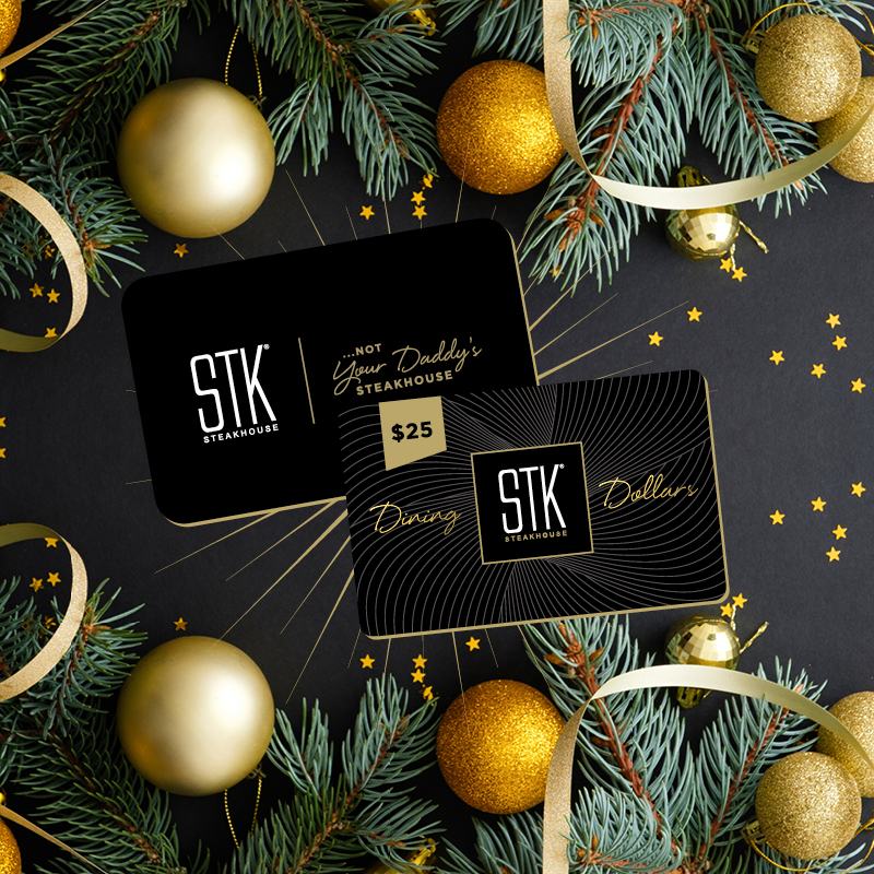 STK steakhouse giftcards