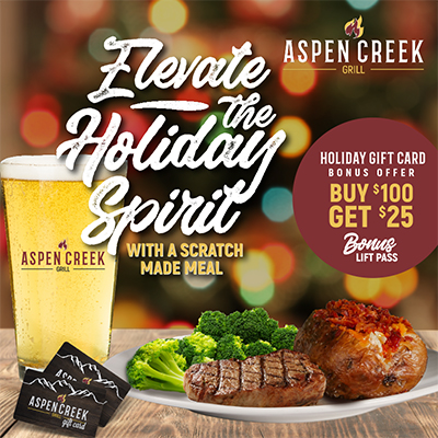 Aspen Creek Holiday Ad