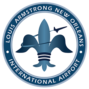MSY | Louis Armstrong New Orleans International Airport logo