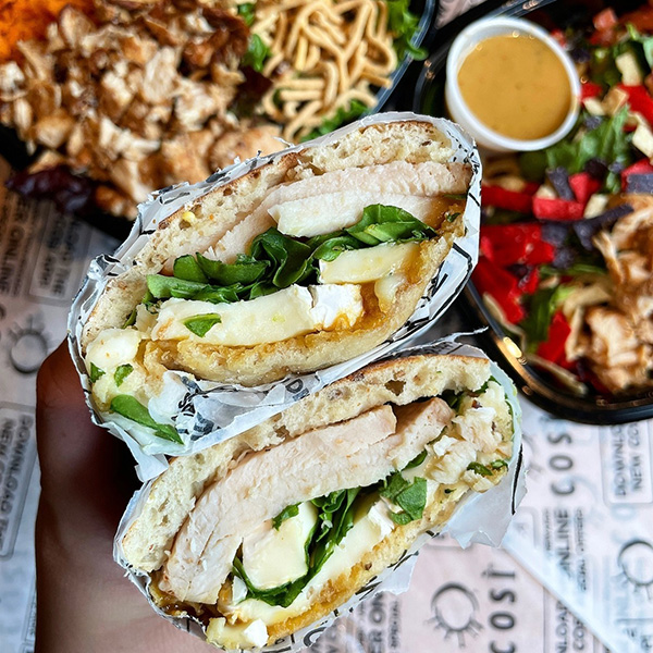 Cosi sandwiches and salads